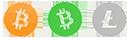 Bitcoin/BitCoinCash/LiteCoin